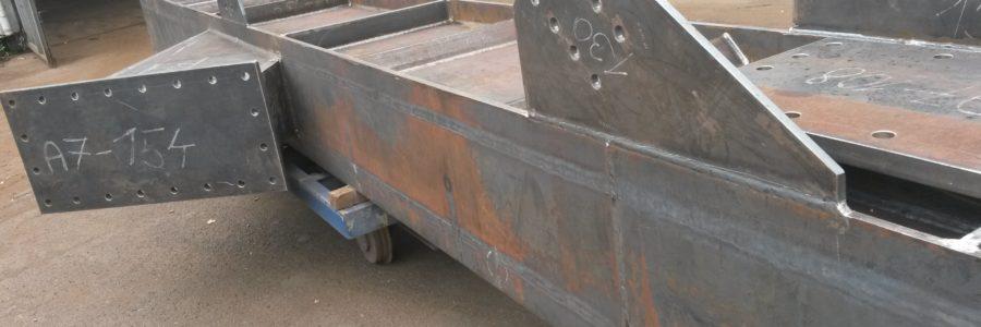 Výroba sloupů – plnostěnné nosníky