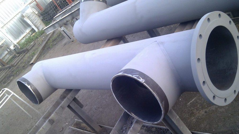 Výměna potrubí, výroba přechodů
